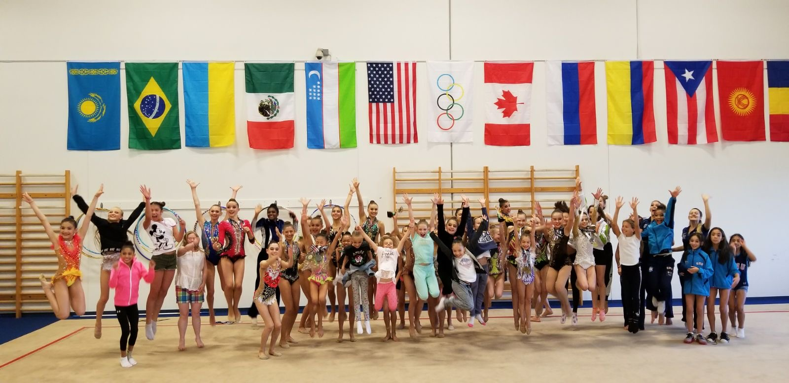 rhythmic gymnastics miami intensive summer camp international training base florida national team professional coaching